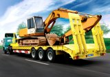 Best Price Low Bed Semi Trailer of 60tons