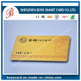 Gold PVC Card with Drawbench Craft (Boye-D2)