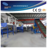 Pet Bottle Crushing Washing Drying Recycling Line (10 years factory)