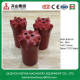 7 Tooth 38mm Taper Button Bit for B22 Drill Rod