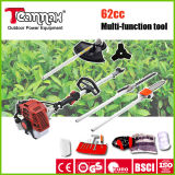 62cc 4 in 1 Gasoline Multi-Function Hedge Trimmer Garden Tools