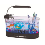 Best selling factory price wholesale cheap custom mini desk USB acrylic aquarium fish tank