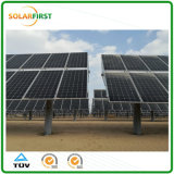 Single Axis Solar Tracking System with GPS Device