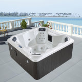 6 People out in Door Freestanding Surf SPA Tub (M-3366)