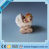 Resin Stroller for Baby House Decoration (HGB004)