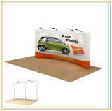 Portable Trade Show Display Stand for Easy Showcase (8FT Curved)