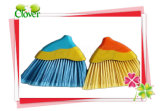 Plastic Product PP Material Broom with Wood Handle