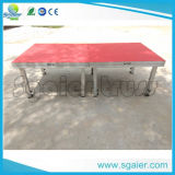 Aluminum Portable Stage Red Carpet Stage Platform with Different Height