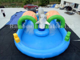 Inflatable Dolphin Swimming Pool for Sale, Inflatable PVC Water Pool