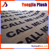 Letter Printed on Warp Knitted Fabric OEM Service Available