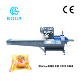 Automatic Film Three Servo Motors Bread Food Flow Packing Machine