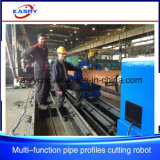 Long Life CNC Plasma Square Tube Round Pipe Cutting and Beveling Slotting Machine