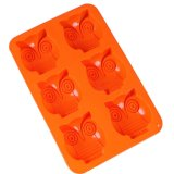 6 Owls Silicone Cake Pan Muffin Cups Cake Baking Mold