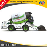 Rotating Drum Mixer Truck Self Loading Mobile Concrete Mixer Truck