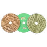 4 Inch Wet Polishing Pad Marble Flexible Polishing Pads