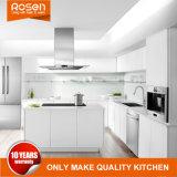 China Wholesale Modular MDF Paint White Matt Lacquer Wood Kitchen Cabinets Cupboard