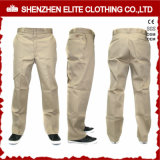 China Cheap Side Pockets Cotton Work Pants for Men