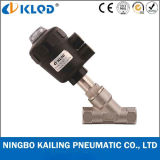 "1/2"" Stainless Steel Angle Seat Valve for Steam Water Kljzf"