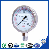 100mm Shock Resistant Pressure Gauge Menometer with Stainless Steel