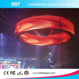 Best Price P5 Full Color Indoor Curved LED Display Screen for Night Club---8