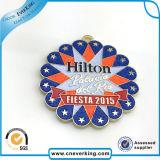 Holiday Customized Blinking LED Metal Pin Badge Promotion Gift