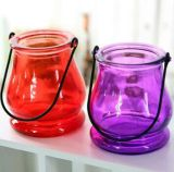 Wholesale Glass Candle Holder Hanging Glass Tealight Votive Candle Holders
