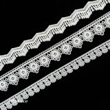 Polyester Embroidery Lace Trim/Sewing Lace Trim/Fancy Embroidery Lace Trim L182