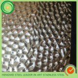 SUS304 Stamped Stainless Steel Sheet for Interior and Exterior Decoration