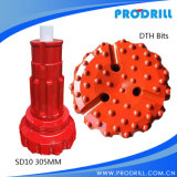 Good Quality SD10 305mm Down The Hole Hammer Bit