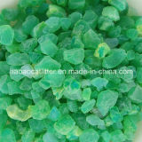 Green Color Crystal Cat Litter Sand - Odor Control