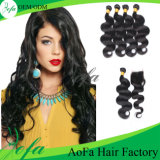 Fashion Unprocessed Human Hair Extension Loose Weft Virgin Hair