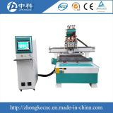 Four Spindles Changer CNC Router Machine for Woodworking