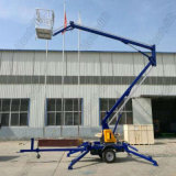 hydraulic Lift Table Mobile Trailer Mounted Boom Lift for Aerial