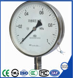 Y-100h 60mm Stainless Steel Pressure Gauge Memometer of Instrument with Top Quality