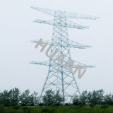 Galvanized Iron Tubular Combination Lattice Tower for Power Transmission