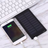 Hotsell 8000mAh Solar Portable Power Bank Phone Charger 2 USB Ports Power Charger