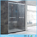 Best Sale Tempered Glass Shower Screen in Stainless Steel