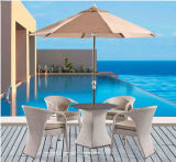 Outdoor Furniture Rattan Table with Chair