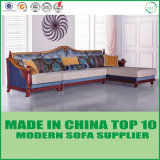 Dubai Living Room Furniture Wooden Fabric Sofa