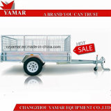 High Quality Galvanized ATM1400kg Heavy Duty Box Trailer