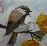 Wholesale Handmade Bird Oil Painting by Palette Knife for Resale