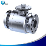 Self Relieving Seat Trunnion Ball Valve with Blowout-Proof Stem