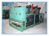 Air Cooled Three Screw Compressor Rack High Temperature Condensing Unit for Blast Freezer