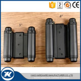 American Style Black Coating Double Action Spring Hinge