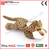 Cheap Plush Stuffed Animal Soft Leopard Toy for Kids/Children