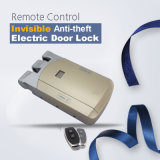 No Wiring Easy to Installation More Secure Anti-Theft 433MHz Invisible Lock with 2 Remotes