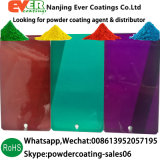 Outdoor Use Pure Polyester Transparent Clear Candy Colors Powder Coating