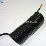 7 Core Truck Trailer Electric Spiral Cable Spiral Power Cable Spiral Wire Cable ABS Spiral Cable