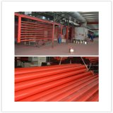 Red Painting Seamless ERW Steel Pipe for Fire Sprinkler