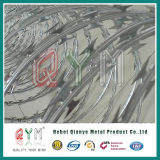 Hot-Dipped Galvanized Concertina Cross Razor Wire Bto-22 Price Factory Wholesale